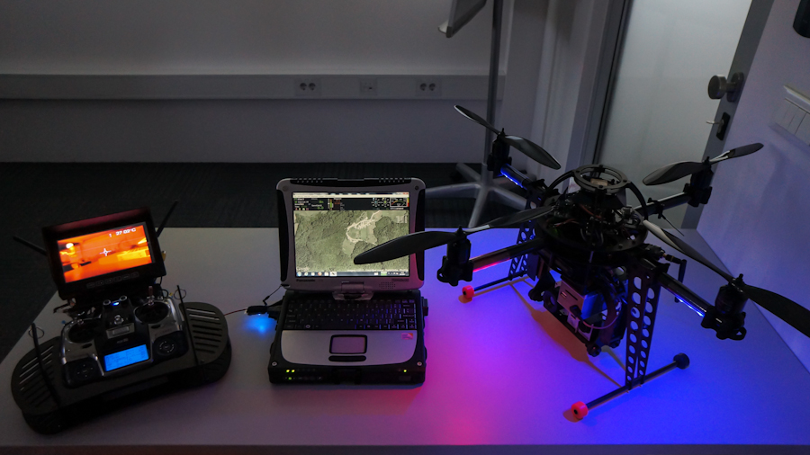 thermal IR drone